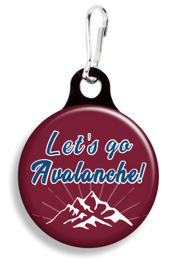 Colorado Let's Go Avalanche - Fetch Life Pet Outfitters Dog & Cat Collar Clips