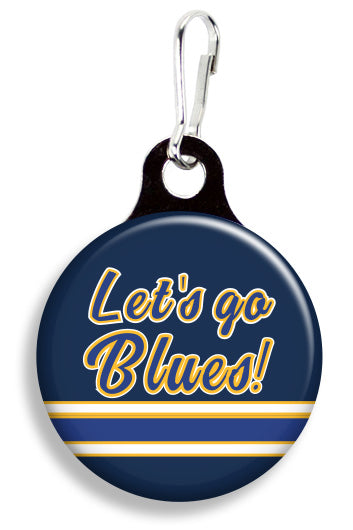 St. Louis Let's Go Blues - Fetch Life Pet Outfitters Dog & Cat Collar Clips