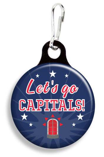 Washington Let's Go Capitals - Fetch Life Pet Outfitters Dog & Cat Collar Clips