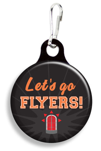 Philadelphia Let's Go Flyers - Fetch Life Pet Outfitters Dog & Cat Collar Clips