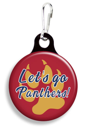 Florida Let's Go Panthers - Fetch Life Pet Outfitters Dog & Cat Collar Clips