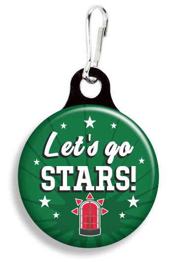 Dallas Let's Go Stars - Fetch Life Pet Outfitters Dog & Cat Collar Clips