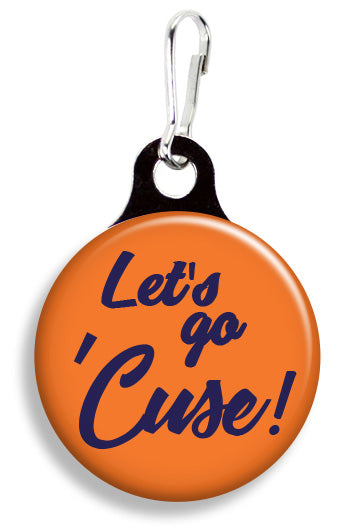 Syracuse Let's Go 'Cues - Fetch Life Pet Outfitters Dog & Cat Collar Clips