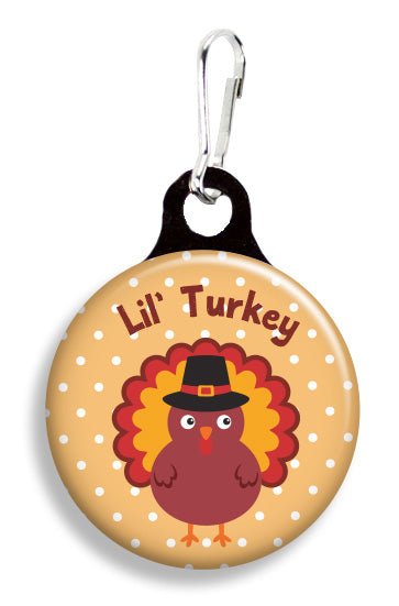 Thanksgiving Turkey - Fetch Life Pet Outfitters Dog & Cat Collar Clips