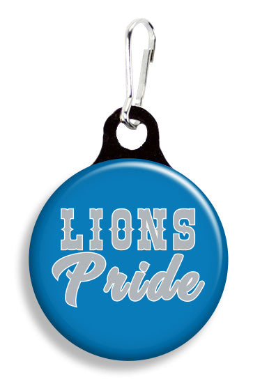 Detroit Lions Pride - Fetch Life Pet Outfitters Dog & Cat Collar Clips