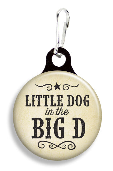 Big D Little Dog - Fetch Life Pet Outfitters Dog & Cat Collar Clips