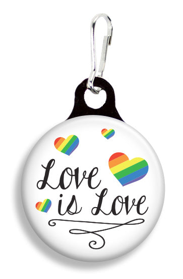 Love Is Love Floating - Fetch Life Pet Outfitters Dog & Cat Collar Clips