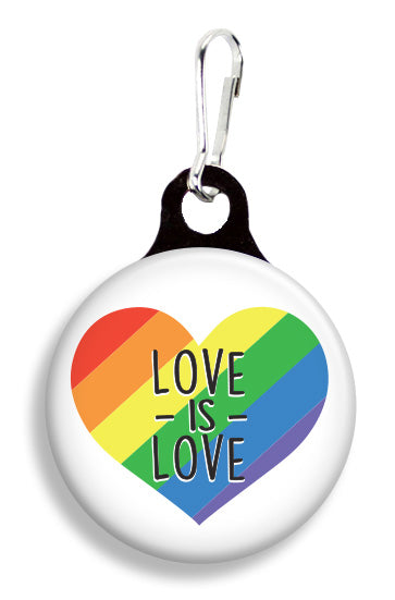 Love Is Love - Fetch Life Pet Outfitters Dog & Cat Collar Clips
