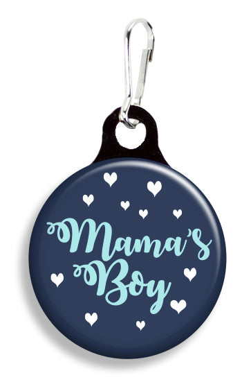 Mama's Boy - Fetch Life Pet Outfitters Dog & Cat Collar Clips