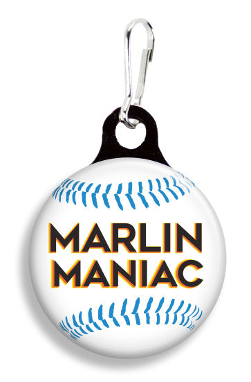 Miami Marlins Maniac - Fetch Life Pet Outfitters Dog & Cat Collar Clips