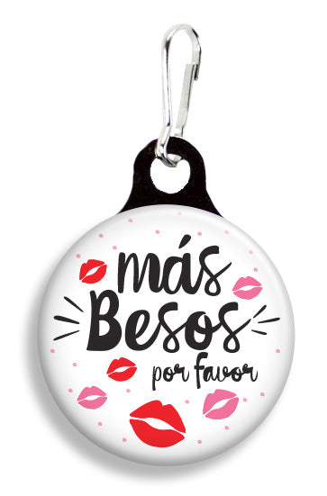 Mas Besos por Favor - Fetch Life Pet Outfitters Dog & Cat Collar Clips