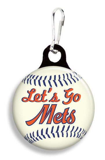 NY Let's Go Mets - Fetch Life Pet Outfitters Dog & Cat Collar Clips
