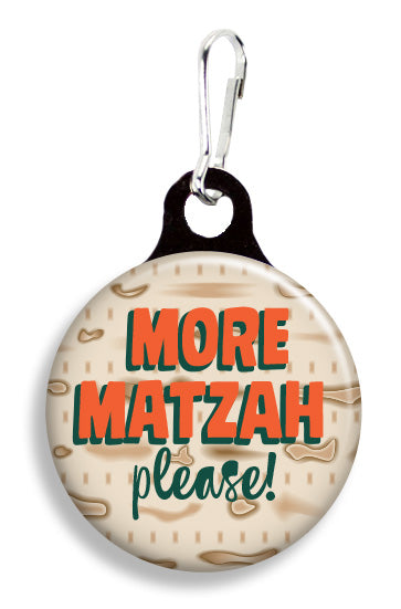 More Matzah Please - Fetch Life Pet Outfitters Dog & Cat Collar Clips
