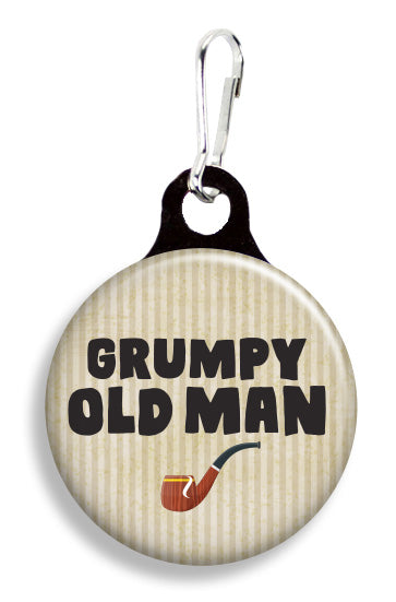 Grumpy Old Man - Fetch Life Pet Outfitters Dog & Cat Collar Clips