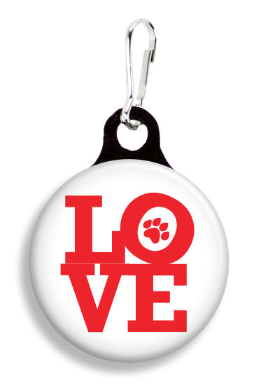 Love Sign - Fetch Life Pet Outfitters Dog & Cat Collar Clips