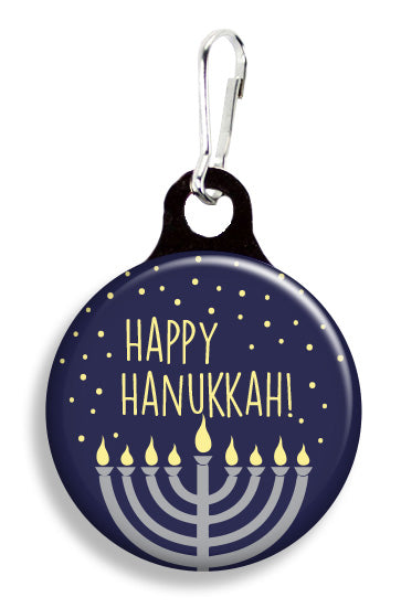 Happy Hanukkah - Fetch Life Pet Outfitters Dog & Cat Collar Clips