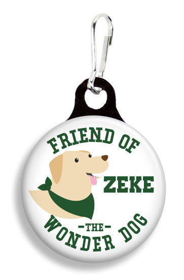 MSU Zeke the Wonder Dog - Fetch Life Pet Outfitters Dog & Cat Collar Clips