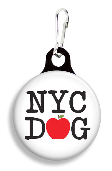 NYC Apple Dog - Fetch Life Pet Outfitters Dog & Cat Collar Clips