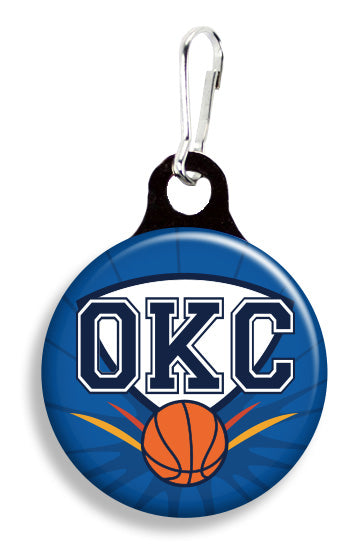 OKC Basketball - Fetch Life Pet Outfitters Dog & Cat Collar Clips
