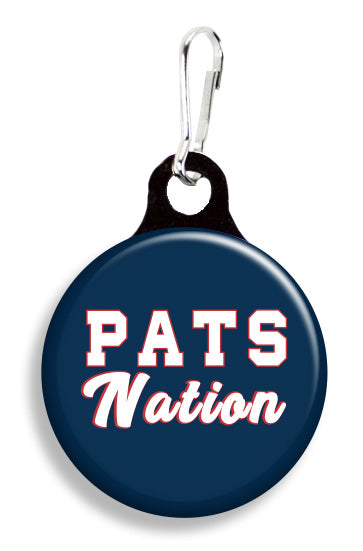 NE Pats Nation - Fetch Life Pet Outfitters Dog & Cat Collar Clips