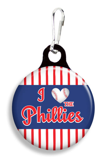 Philadelphia Love the Phillies - Fetch Life Pet Outfitters Dog & Cat Collar Clips