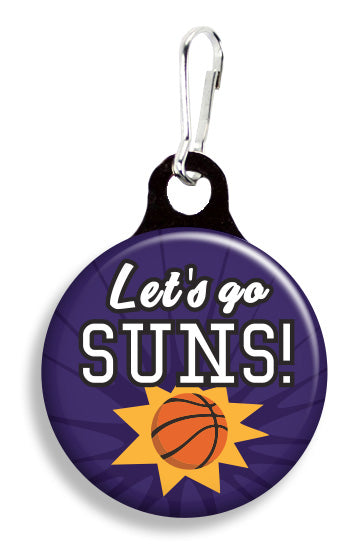 Phoenix Let's Go Suns - Fetch Life Pet Outfitters Dog & Cat Collar Clips