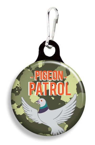 Pigeon Patrol - Fetch Life Pet Outfitters Dog & Cat Collar Clips