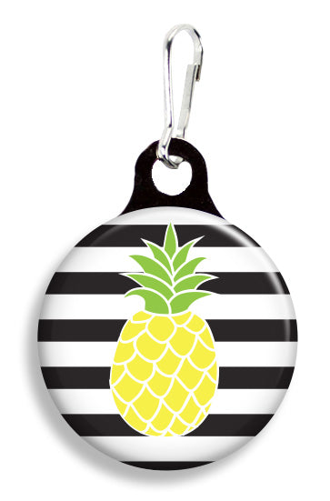 Pineapple Stripes - Fetch Life Pet Outfitters Dog & Cat Collar Clips