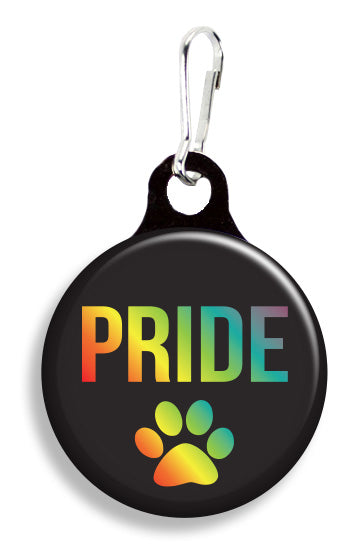 Pride Paw Print - Fetch Life Pet Outfitters Dog & Cat Collar Clips