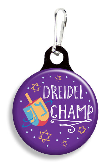 Dreidel Champ - Fetch Life Pet Outfitters Dog & Cat Collar Clips