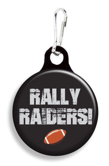 Oakland Rally Raiders - Fetch Life Pet Outfitters Dog & Cat Collar Clips