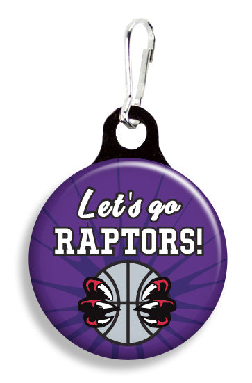 Let's Go Raptors - Fetch Life Pet Outfitters Dog & Cat Collar Clips