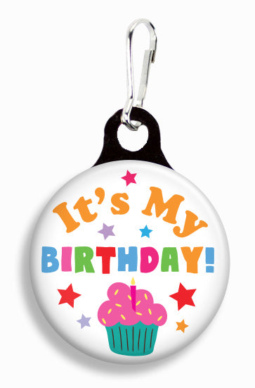 Birthday Cupcake - Fetch Life Pet Outfitters Dog & Cat Collar Clips