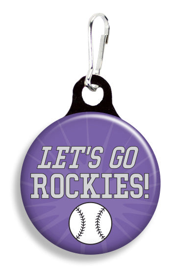 Denver Let's Go Rockies - Fetch Life Pet Outfitters Dog & Cat Collar Clips