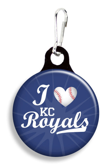 KC Royals Love - Fetch Life Pet Outfitters Dog & Cat Collar Clips