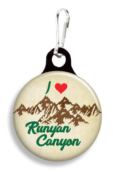 Runyan Canyon - Fetch Life Pet Outfitters Dog & Cat Collar Clips