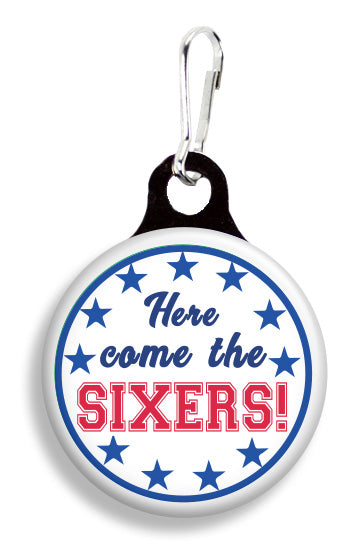 Philly Sixers - Fetch Life Pet Outfitters Dog & Cat Collar Clips