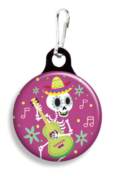 Skeleton Guitar - Fetch Life Pet Outfitters Dog & Cat Collar Clips