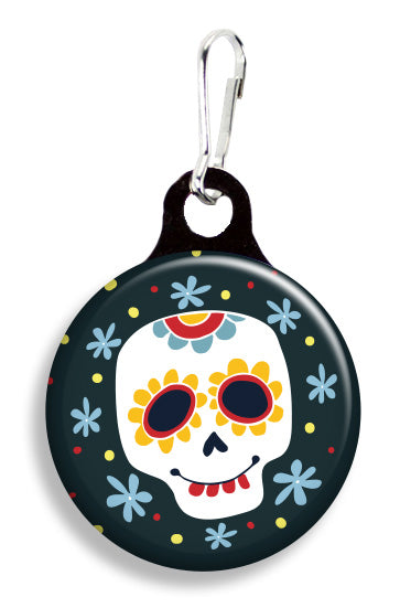 Sugar Skull - Fetch Life Pet Outfitters Dog & Cat Collar Clips
