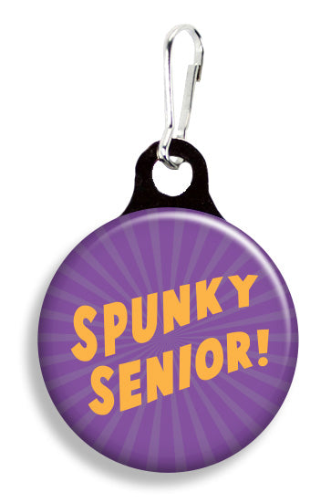 Spunky Senior - Fetch Life Pet Outfitters Dog & Cat Collar Clips