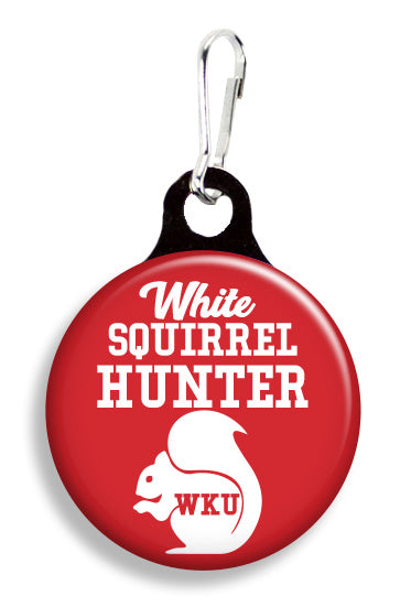WKU White Squirrel Hunter - Fetch Life Pet Outfitters Dog & Cat Collar Clips