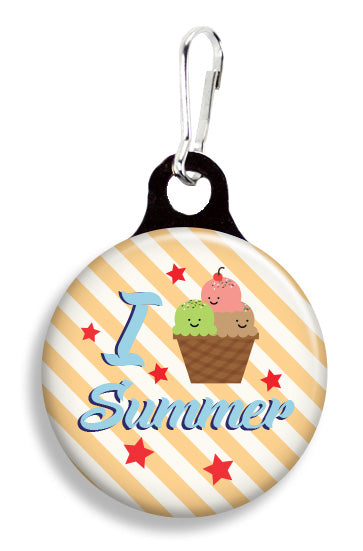 Summer Ice Cream - Fetch Life Pet Outfitters Dog & Cat Collar Clips