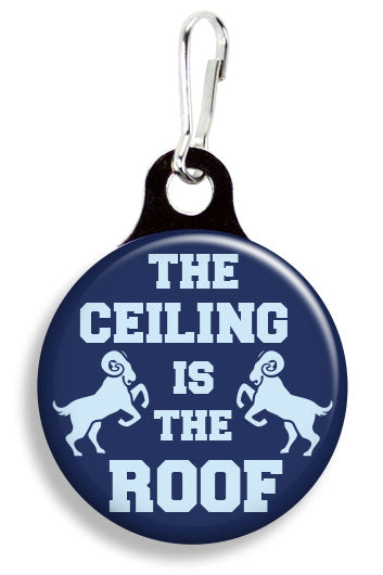 UNC Ceiling is the Roof - Fetch Life Pet Outfitters Dog & Cat Collar Clips