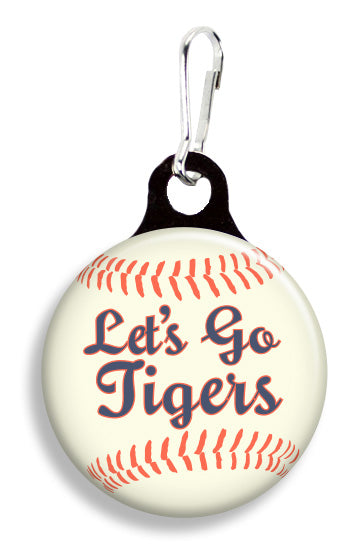 Detroit Let's Go Tigers - Fetch Life Pet Outfitters Dog & Cat Collar Clips