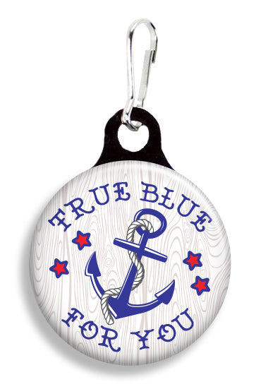 Tattoo True Blue 4 You - Fetch Life Pet Outfitters Dog & Cat Collar Clips
