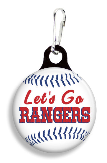 Texas Let's Go Rangers - Fetch Life Pet Outfitters Dog & Cat Collar Clips