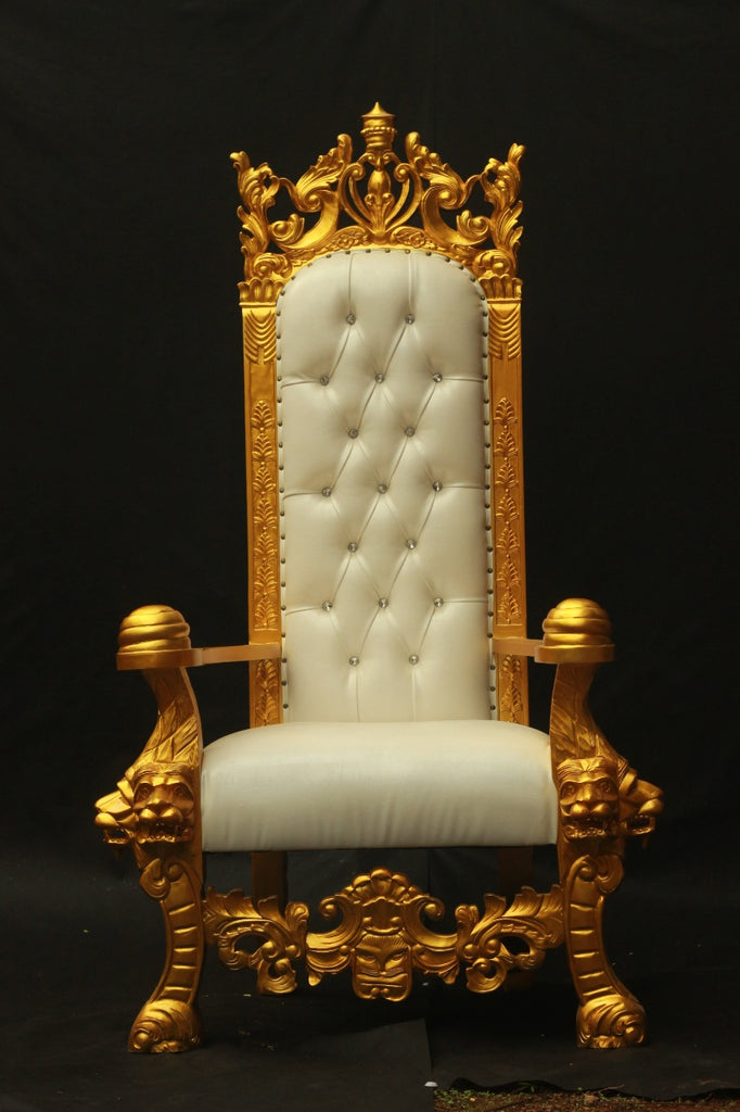 KING SOLOMON LION THRONE CHAIR AVAILABLE FOR PRE-ORDER!