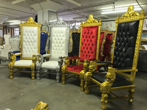 KING KONG THRONE CHAIRS!