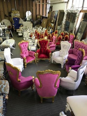 MINI TIFFANY THRONE CHAIRS FOR CHILDREN