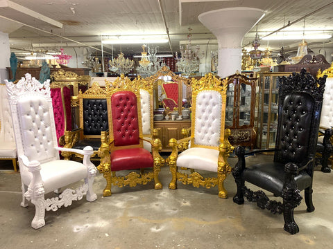 King solomon throne chairs all colors
